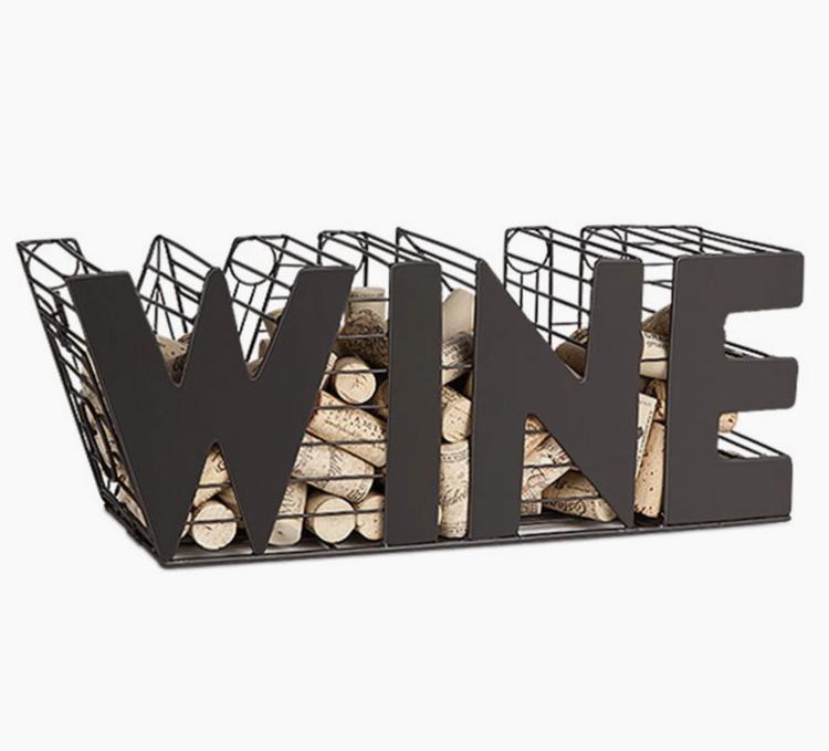 Cork Wine Cage WINE