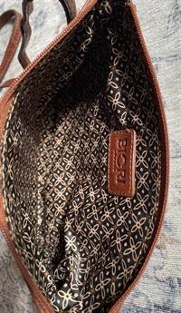 Biori crossbody clutch 5118 brun