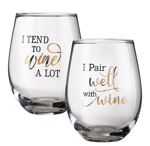 Vinglas Wine a lot & Pair well 2-pack