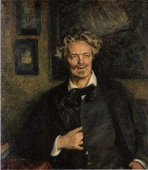 AUGUST STRINDBERG av Richard Bergh