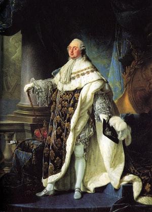 LUDVIG XVI av Antoine-François Callet