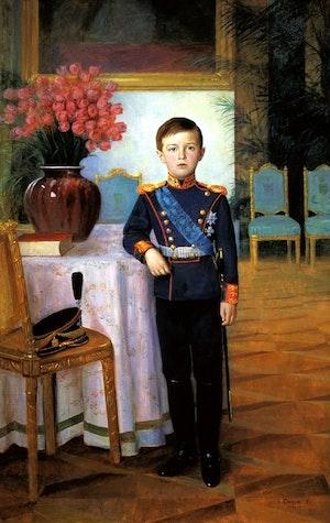 TSAREVICH ALEXEI NIKOLAEVICH ROMANOV by/av Sergei Semenovitch Egornov