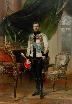 NICHOLAS II 1896 - NIKOLAJ II 1896 by/av Ernst Friedrich von Liphart