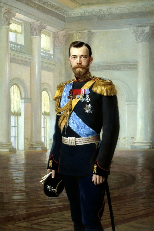 TSAR NICHOLAS II - TSAR NIKOLAJ II by/av Ernst Friedrich von Liphart