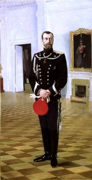 NICHOLAS II 1914 - NIKOLAJ II 1914 by/av Vladimir Kuznetsov
