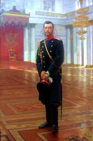 TSAR NICHOLAS II - TSAR NIKOLAJ II by/av Ilja Repin