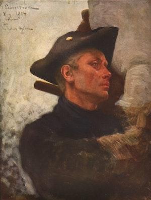 KAROLIN - Likfärden 1884 av Gustaf Cederström