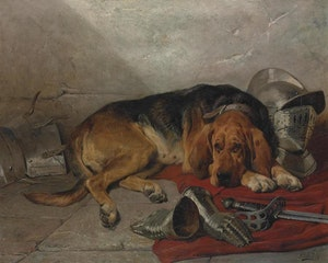 TROTJÄNAREN Riddarens Blodhund av John Sargent Noble