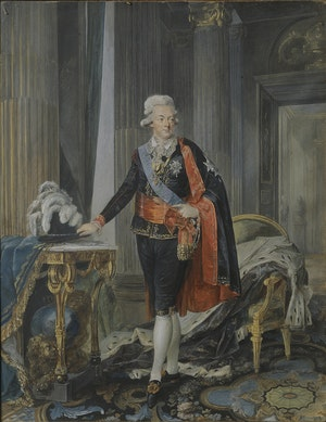 GUSTAV III av Niklas Lafrensen d.y.