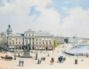 GUSTAVIANSKA GAMLA OPERA HUSET 1892 av ANNA PALM
