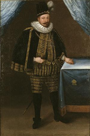 SIGISMUND III VASA av Sverige, Polen och Litauen (1566-1632) av Okänd Mästare