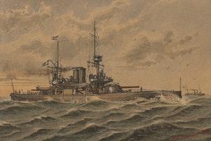 PANSARBÅTEN HMS ODEN 1898 av KE SVENSSON