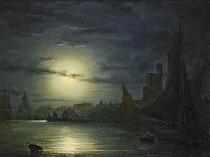 STOCKHOLM I MÅNSKEN 1849 av MARCUS LARSON