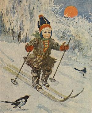LITEN SAME POJKE PÅ SKIDOR av JENNY NYSTRÖM
