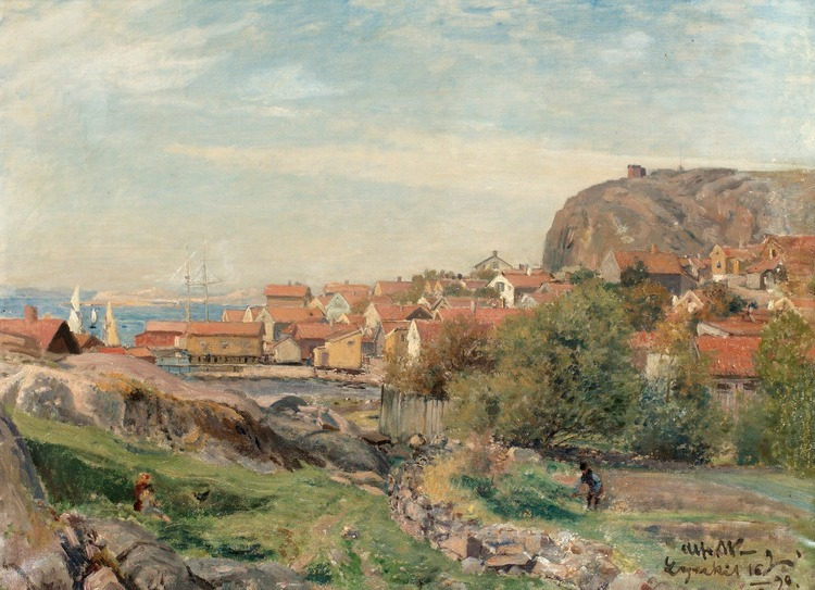 LYSEKIL 1890 av ALFRED WAHLBERG