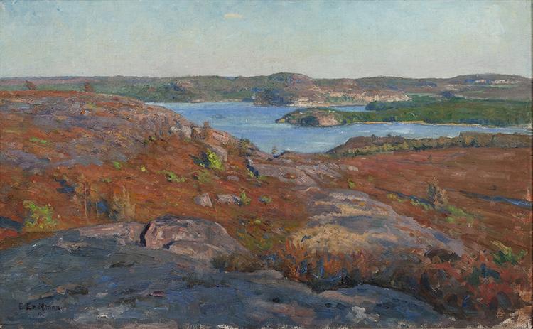 FJÄRÅS HALLAND 1917 av ELIAS ERDTMAN