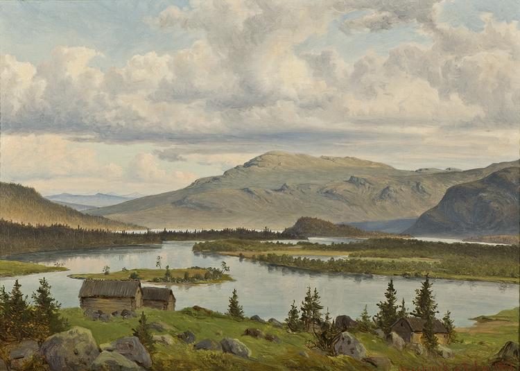 SAGGAT TRÄSK JOKKMOKK 1861 av PER DANIEL HOLM