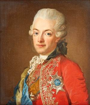 GUSTAV III 1770 av LORENS PASCH d.y.