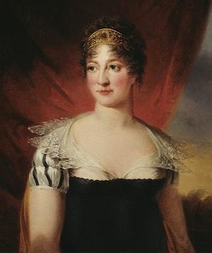 Hedvig Elisabeth Charlotta av Holstein-Gottorp av Carl Fredric von Breda