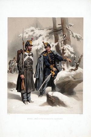 Smålands grenadjärbataljon. Efter Fritz von Dardel