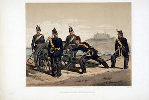 Norska artilleribrigaden. Efter Fritz von Dardel