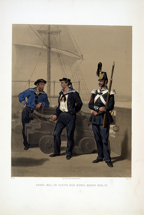 Flottan och Marinregementet. Efter Fritz von Dardel