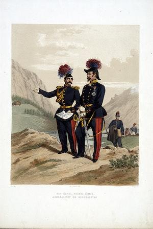 Norska armén, Generalitetet och Generalstaben. Efter Fritz von Dardel