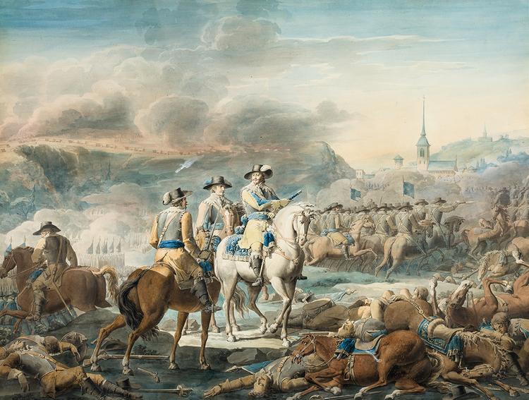 GUSTAV II ADOLF I SLAGET VID WITTSTOCK av EMANUEL LIMNELL