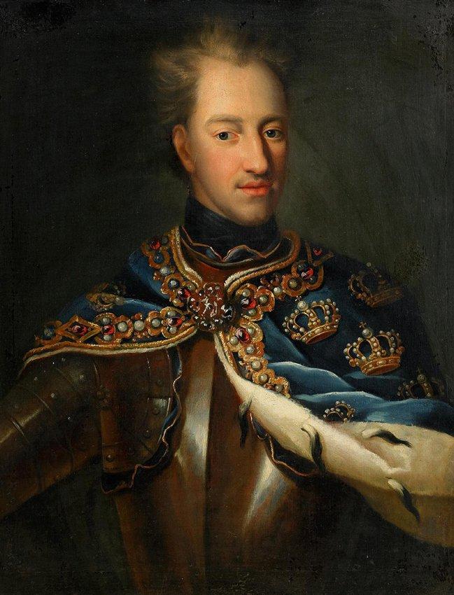 KARL XII av Georg Desmarées