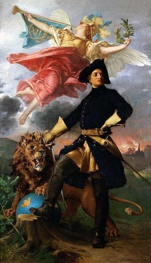 KARL XII av Julius Kronberg