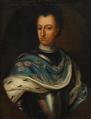KARL XII I HARNESK av David von Krafft