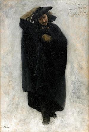 KAROLIN - Likfärden 1877 av Gustaf Cederström
