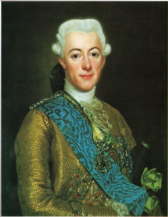 GUSTAV III av Alexander Roslin
