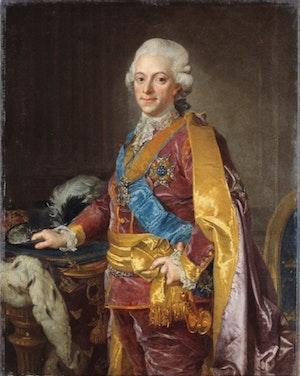 GUSTAV III av Lorenz Pasch den yngre