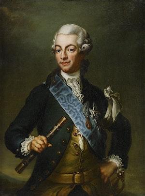 GUSTAV III I REVOLUTIONSUNIFORM av Jacob Björck