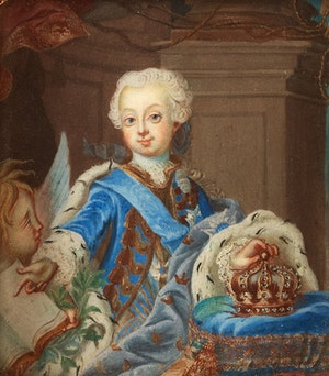 GUSTAV III SOM KRONPRINS av Niklas Lafrensen d.ä.