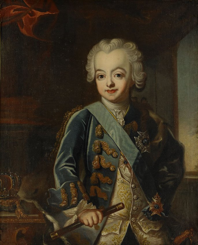 DEN UNGE GUSTAV III av Jacob Björck
