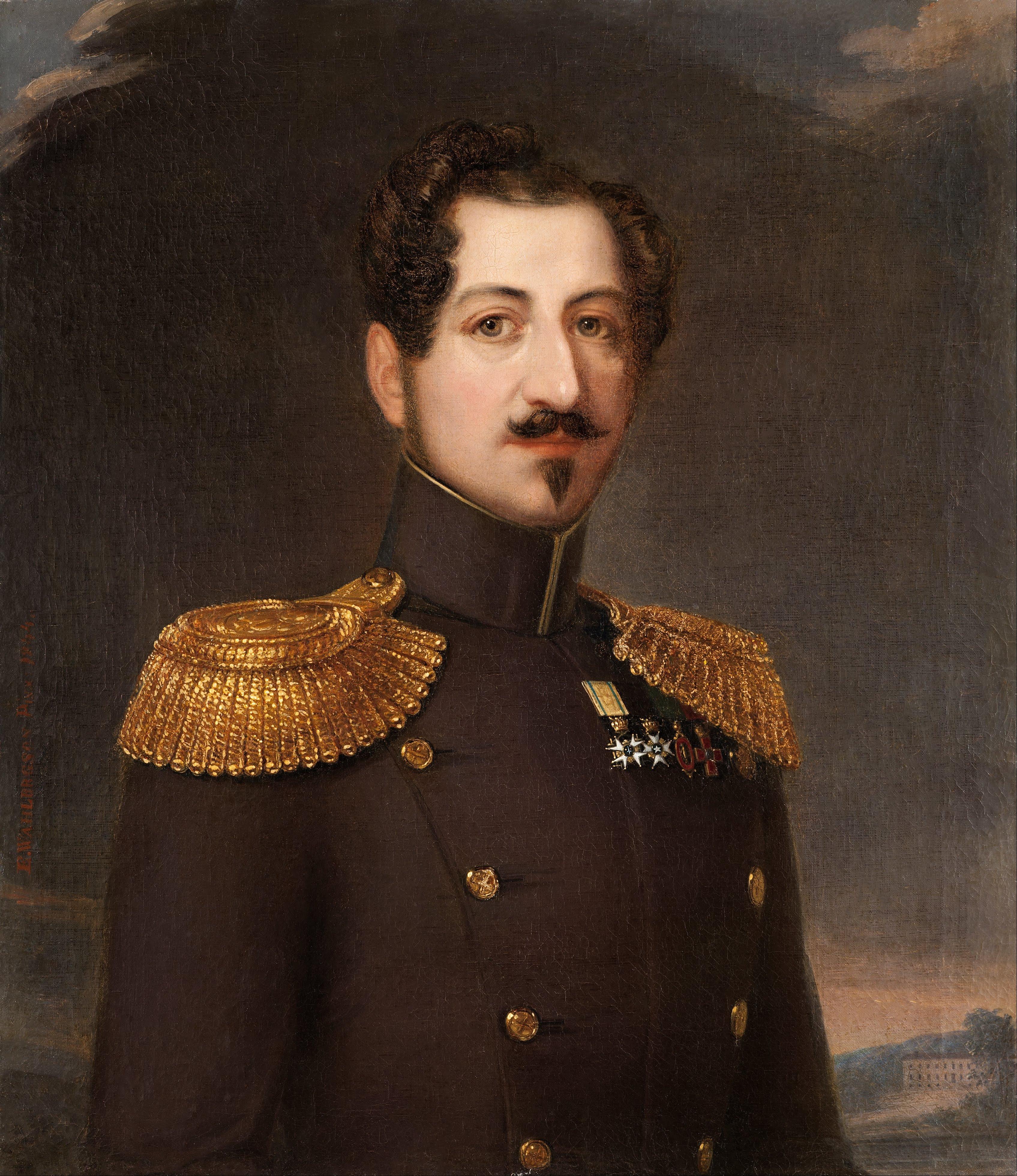 OSCAR I 1844 av Erik Wahlbergson