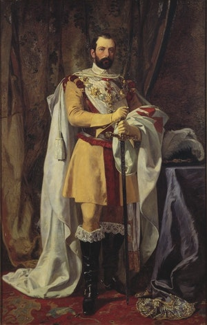 KARL XV I FRIMURARSKRUD av Johan Fredrik Höckert