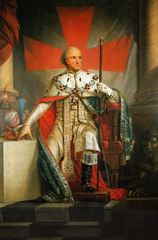 KARL XIII I FRIMURARSKRUD av Carl Fredric von Breda