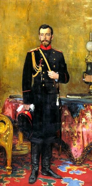 NICHOLAS II - NIKOLAJ II by/av Ilja Repin