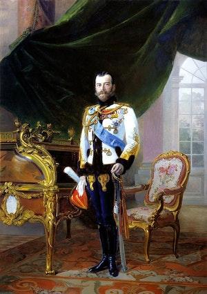NICHOLAS II - NIKOLAJ II by/av Ernst Friedrich von Liphart