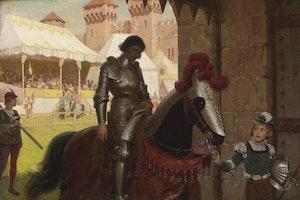BESEGRAD av Edmund Blair Leighton