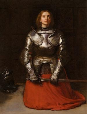 JEANNE D´ARC av John Everett Millais