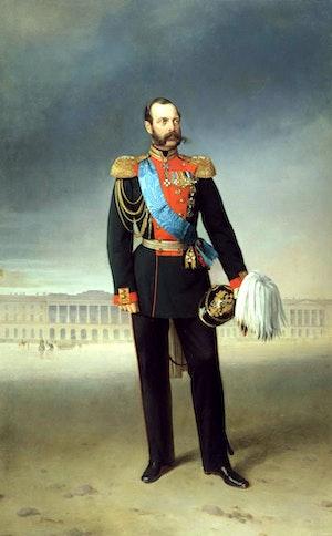TSAR ALEXANDER II av Egor Boatman