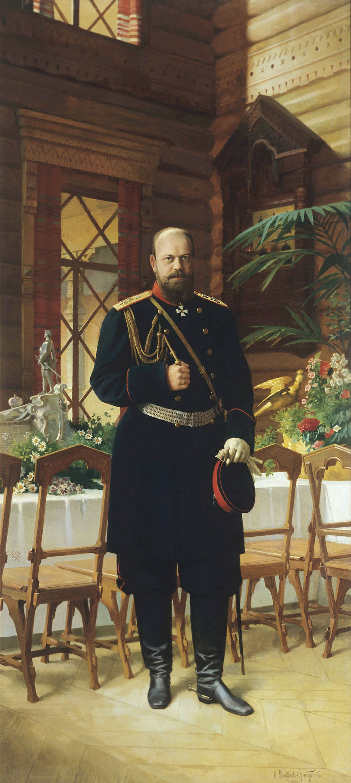 TSAR ALEXANDER III av NIKOLAJ ORENBURGSKIJ