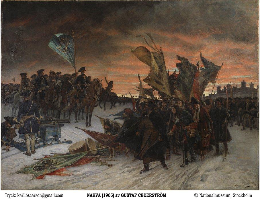 NARVA av Gustaf Cederström