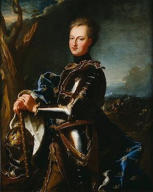 Karl XII (1715) av Hyacinthe Rigaud