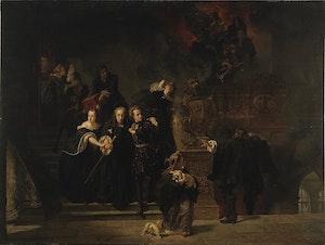TRE KRONOR – SLOTTSBRANDEN STOCKHOLM 1697 av Johan Fredrik Höckert