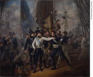 HERTIG KARL ( Karl XIII ) I SLAGET VID HOGLAND av Per Krafft d.y.